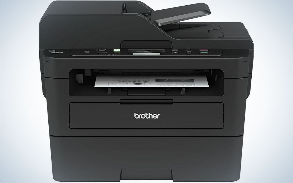 The Brother Monochrome Laser Printer is the best copy machine for speed.