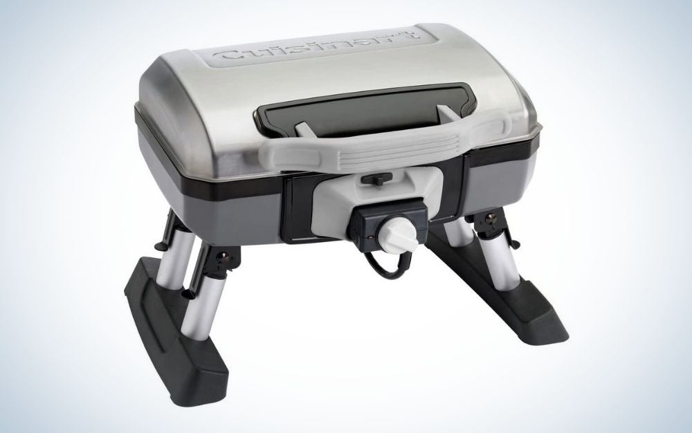 The Cuisinart Electric Tabletop Grill is the best portable grill for city dwellers.