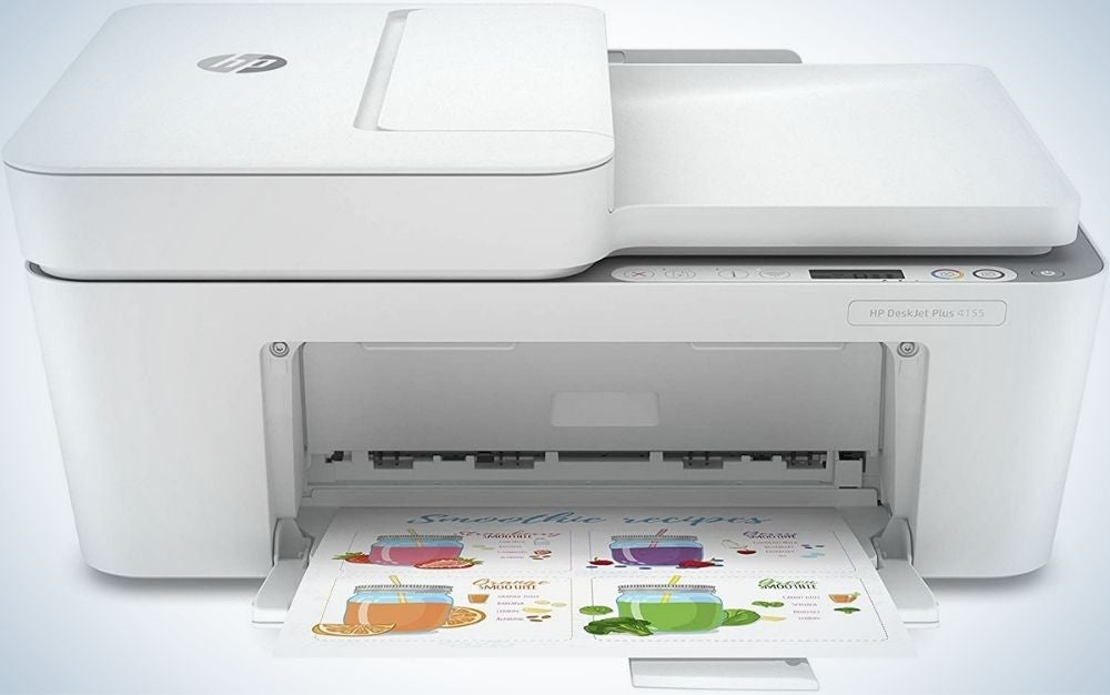 The HP DeskJet Plus 4155 Wireless All-in-One Printer is the best copy machine on a budget.