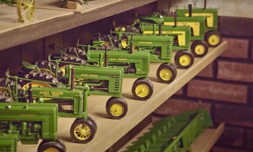 This Iowa man carves the cutest wooden tractors you've ever seen