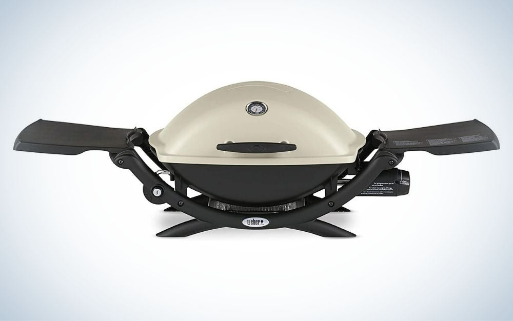 The Weber Q2200 Portable Propane Grill is the best portable grill for tailgaters.