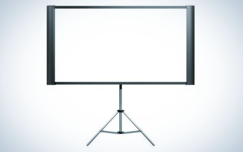 The Epson Duet is the best projector screen for business professionals.
