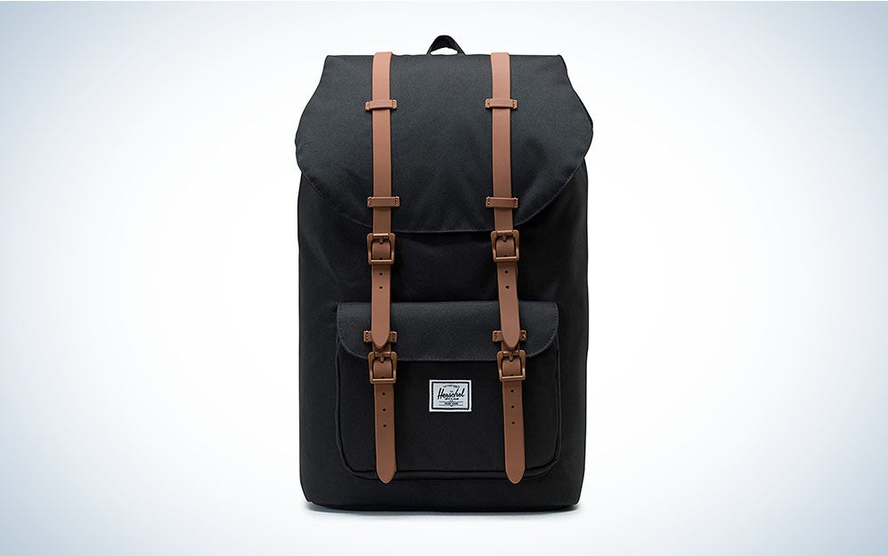 The Herschel Little America Laptop Backpack is the best multifunctional backpack.