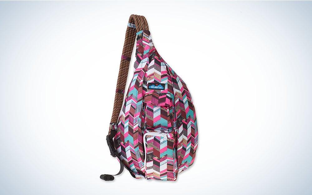 The KAVU Original Rope Sling is the best sling backpack.