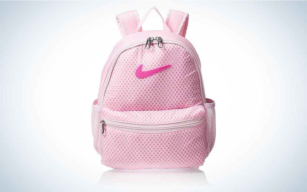 Pink Nike backpack is one of the best backpacks for school