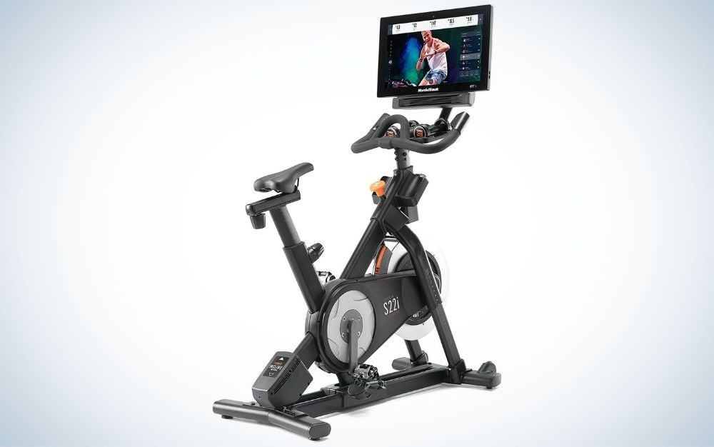 The NordicTrack Commercial Studio Cycle is the best home workout equipment.