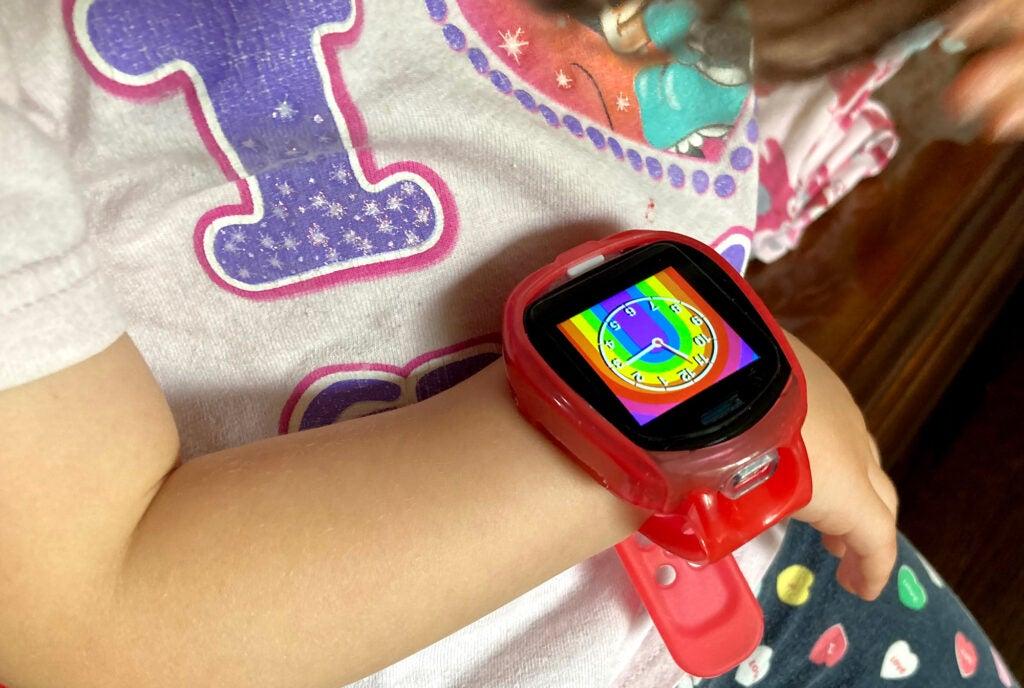 Tobi 2 Robot smartwatch on wrist