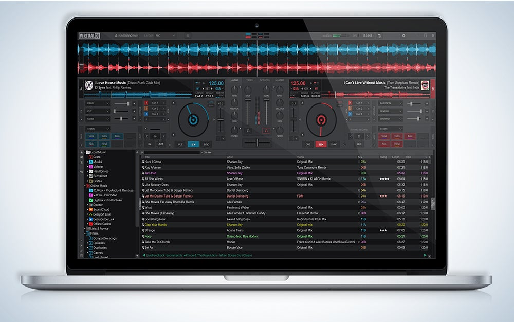 VirtualDJ is the best DJ software.