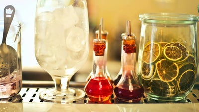 Craft herbaceous homemade drinks with simple syrup infusions