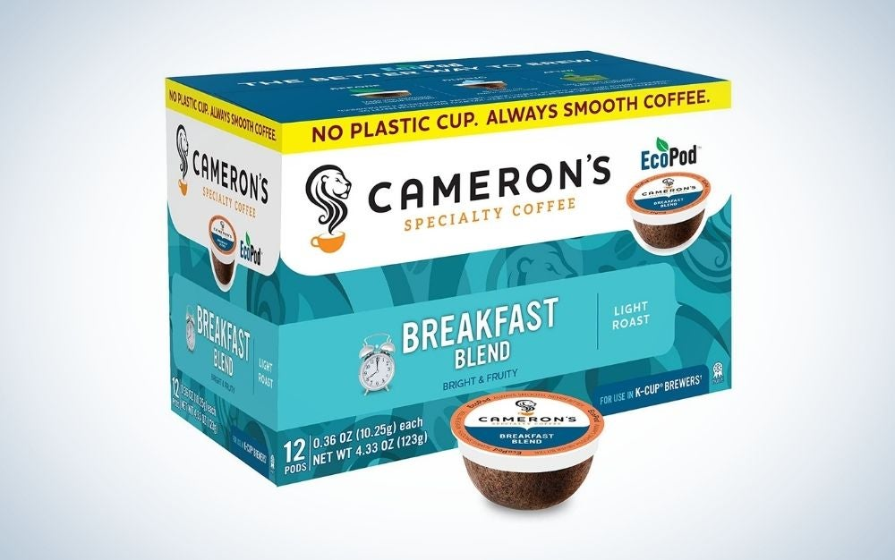 Cameron's Coffee is the best K Cup Coffee