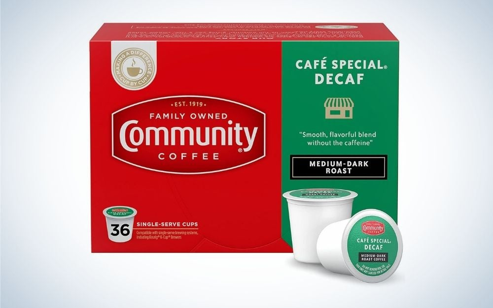 Community Cafe Special is the best K Cup Coffee.