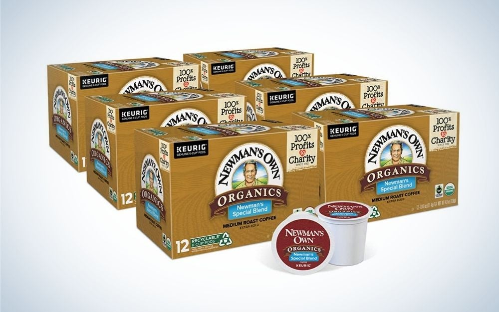 Newmans Own Organics is the best K Cup Coffee.