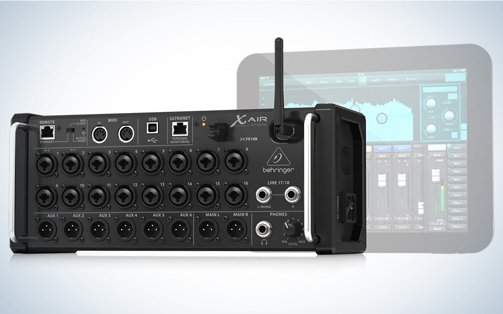 Behringer Air XR18 product card