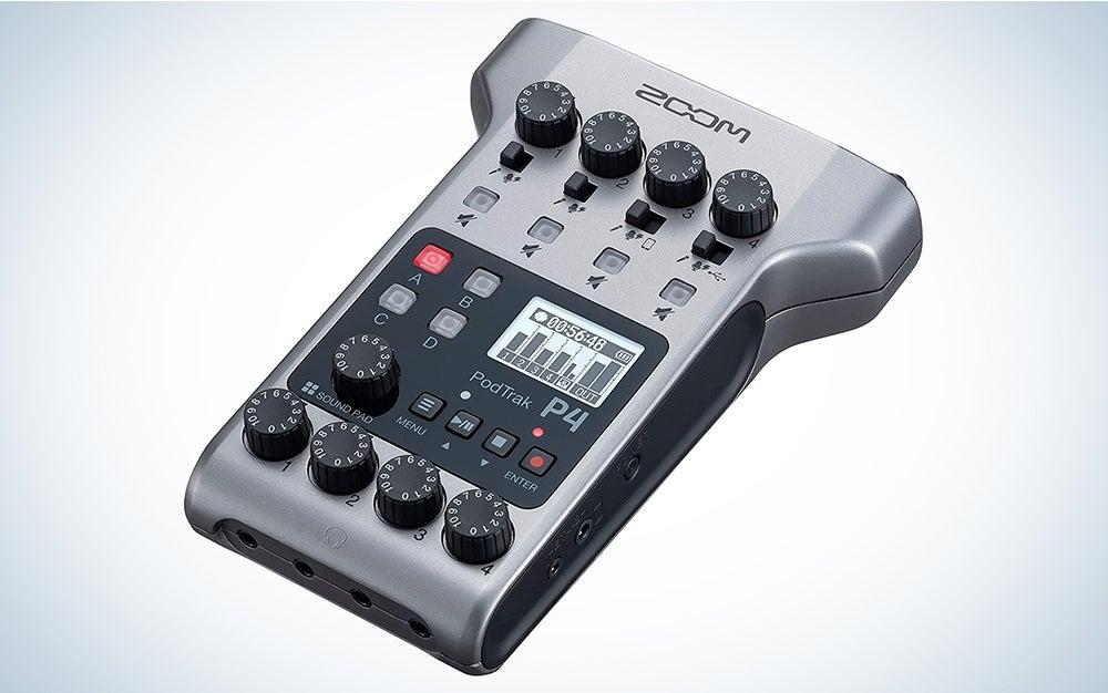 Zoom PodTrak P4 best digital mixer