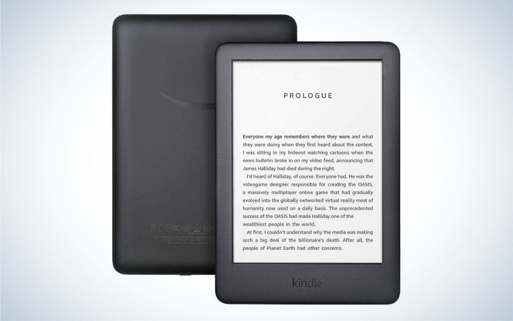 The Amazon Kindle is our pick for the best ereaders.