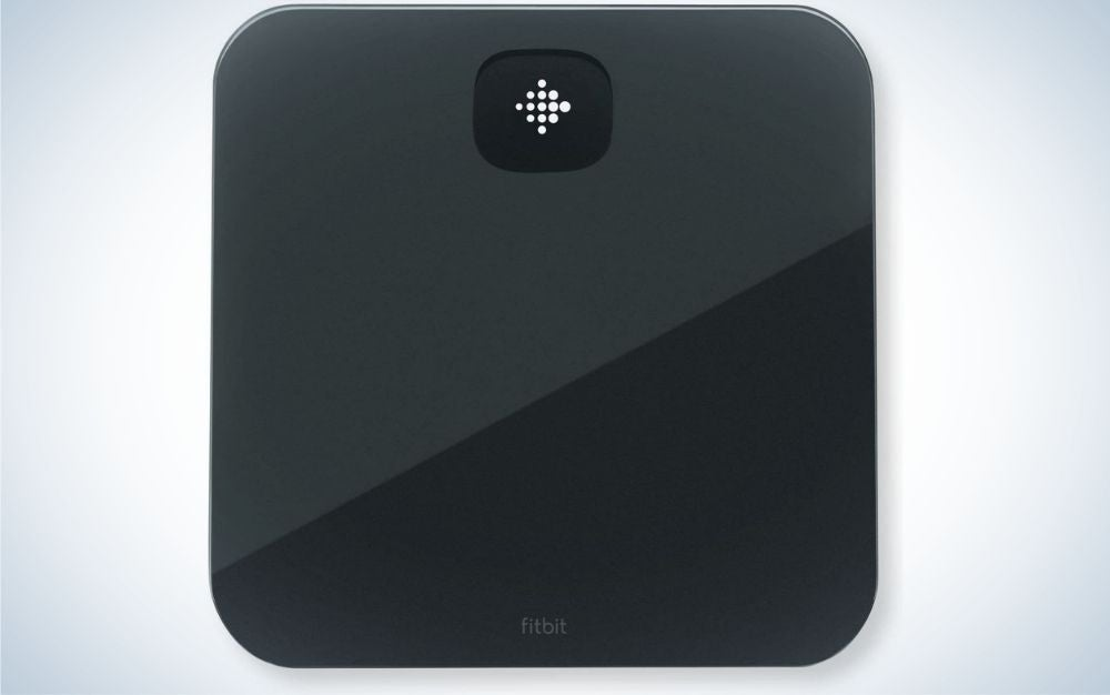 The Fitbit Aria Air Smart Scale is the best sleep bathroom scale.