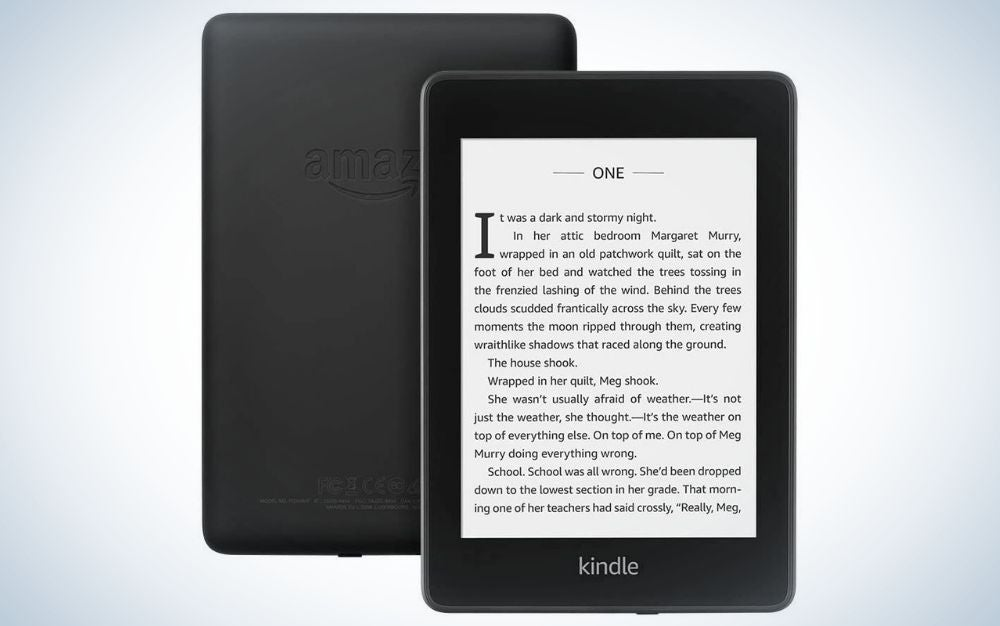 The Kindle Paperwhite is our pick for the best eReaders.