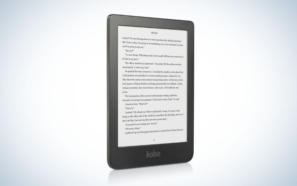 Kobo Clara HD is our pick for the best eReaders.