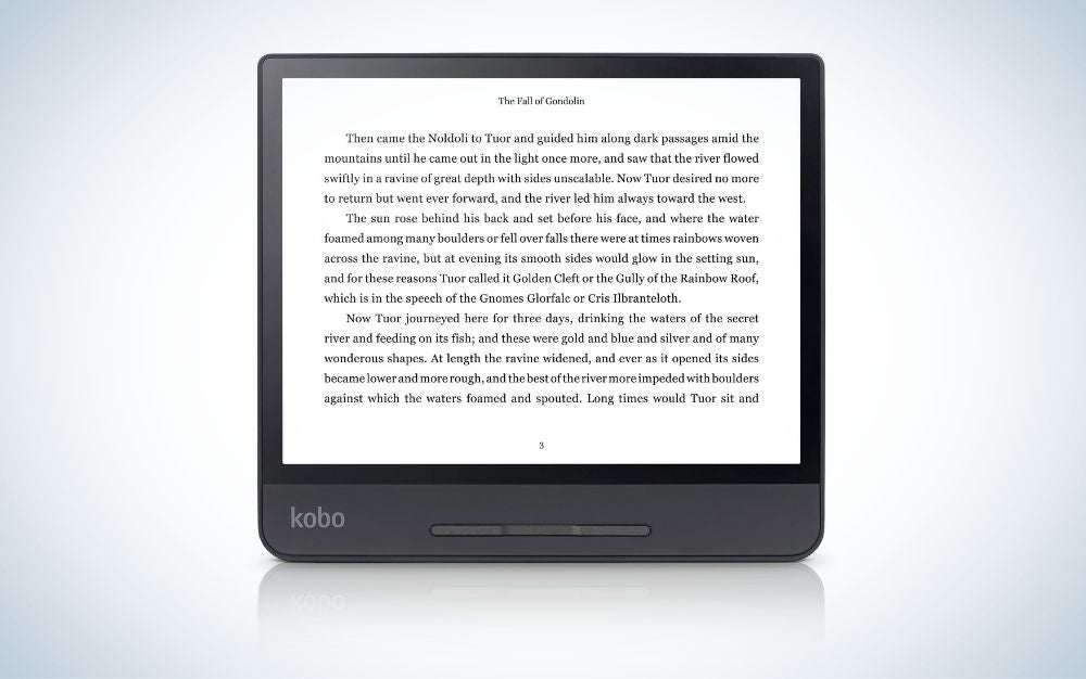 Kobo forma is our pick for the best eReaders.