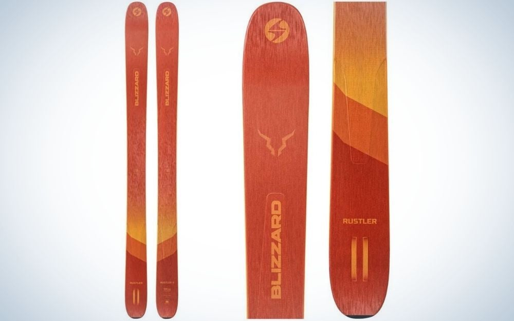 The Blizzard Rustler 11 Skis are the best powder skis.
