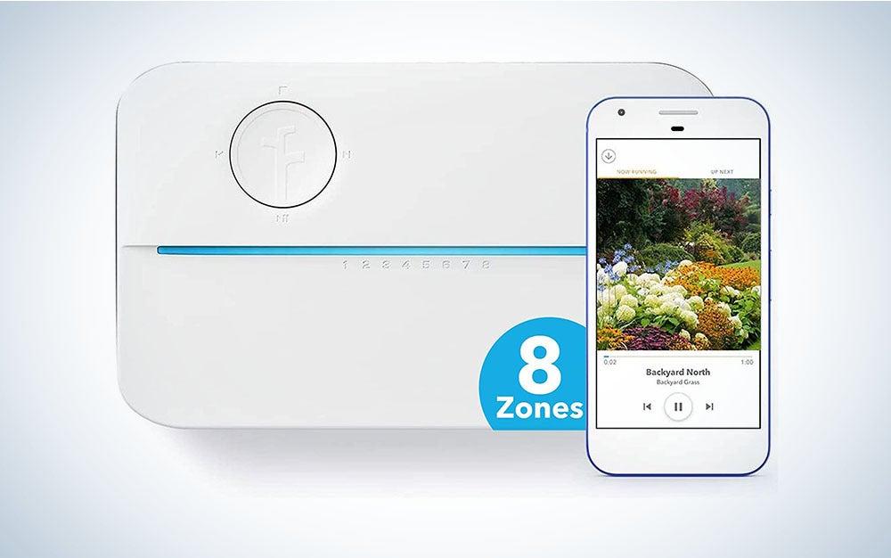 The Rachio 3 Smart Sprinkler Controller is the best sprinkler system for modern homes.