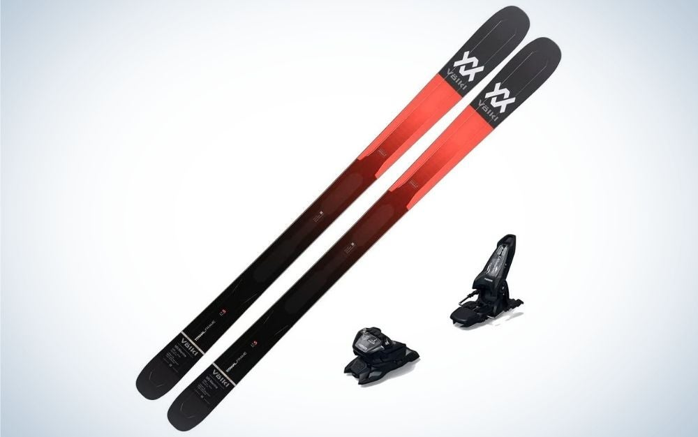 The Volkl 2021 M5 Mantra Mens Skis are the best all-mountain skis.
