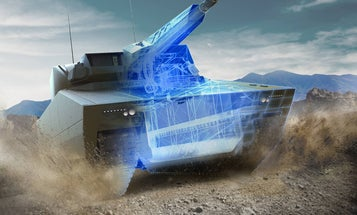 Check out the futuristic turrets US tanks might sport