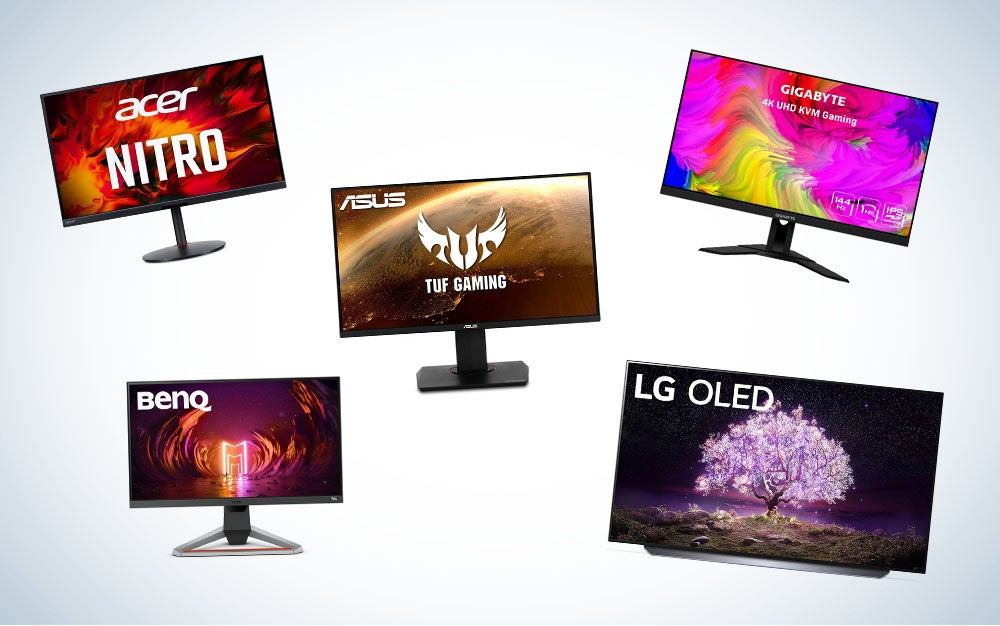 best monitors for ps5