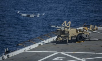 Russia wants to launch little drones off of other drones off of ships
