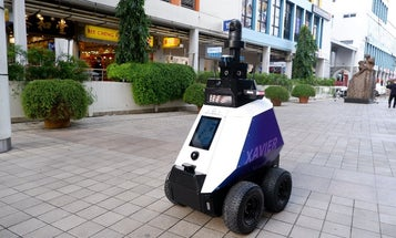 Singapore's new robot cops will focus on small-time crime
