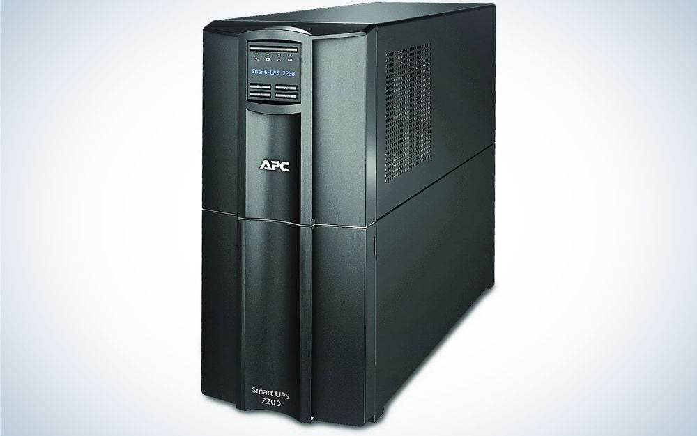 APC is our pick for the best battery backup.