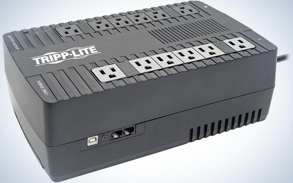 Tripp Lite is the best battery backup.