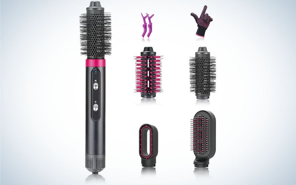 FAYLISVOW is our pick for best hot air brushes.