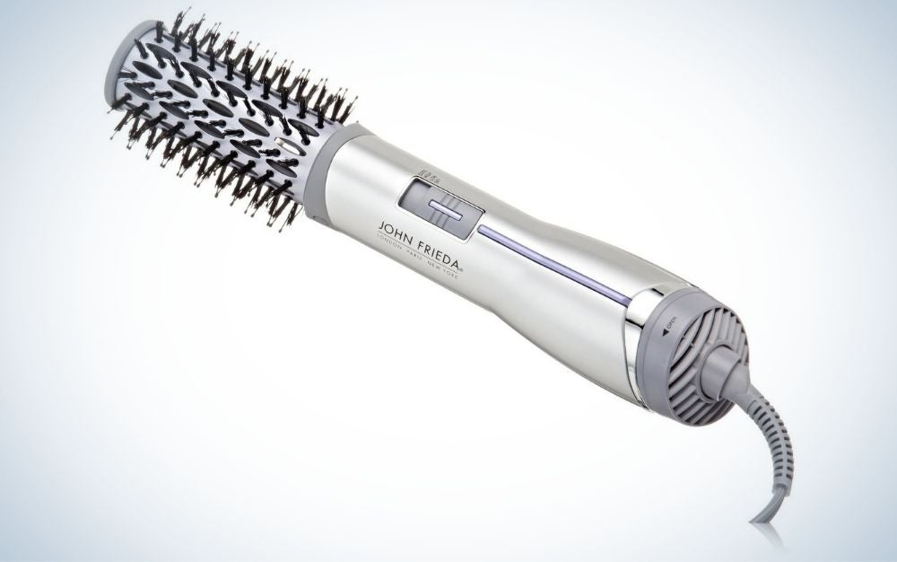 John frieda is our pick for best hot air brushes.