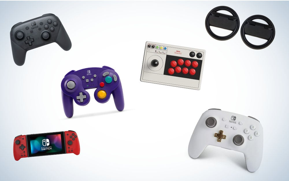 These are our picks for the best Nintendo Switch controllers on Amazon.