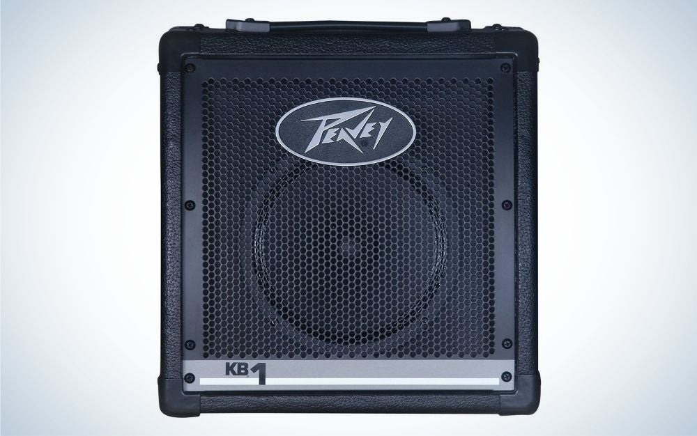 Peavey is the best practice amp for keyboards.