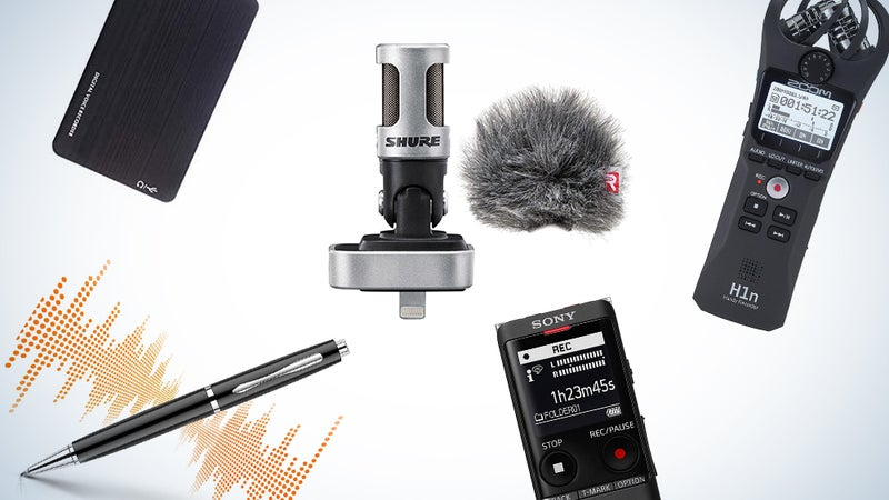 The best voice recorders to capture your words