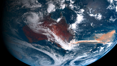 Australian wildfires fueled an algae bloom bigger than the continent itself
