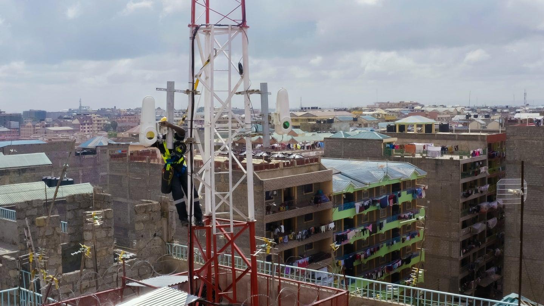 Taara's internet towers in Kenya.