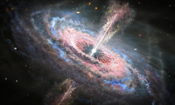 Blindingly bright black holes could help cosmologists see deeper into the universe's past