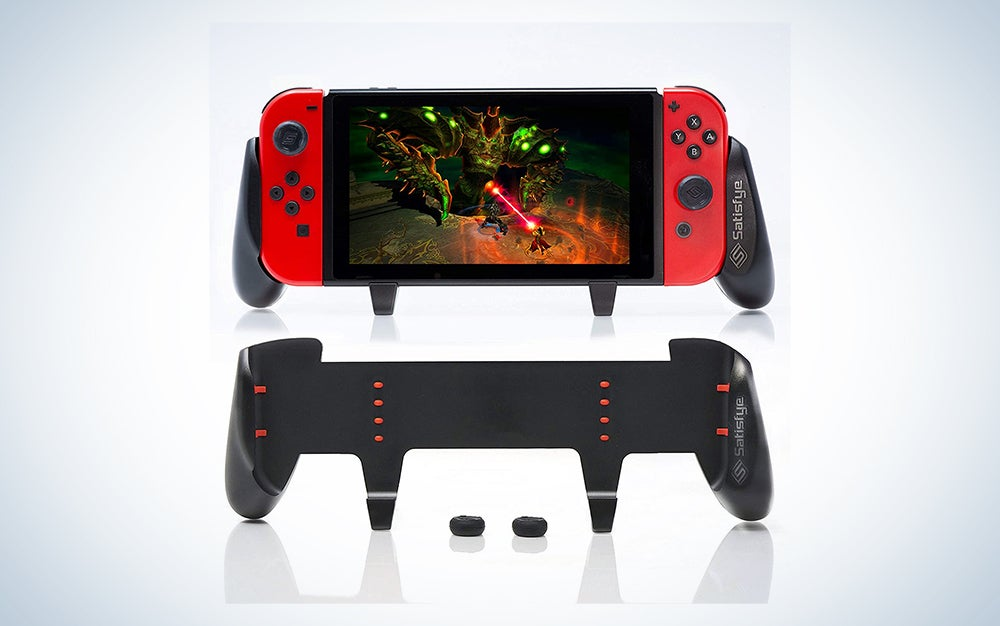 This Satisfye Zengrip is our pick for best nintendo switch accessories