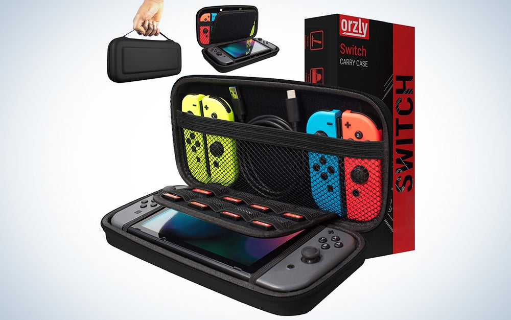 orzly nintendo switch carrying case is our pick for the best switch accessories.