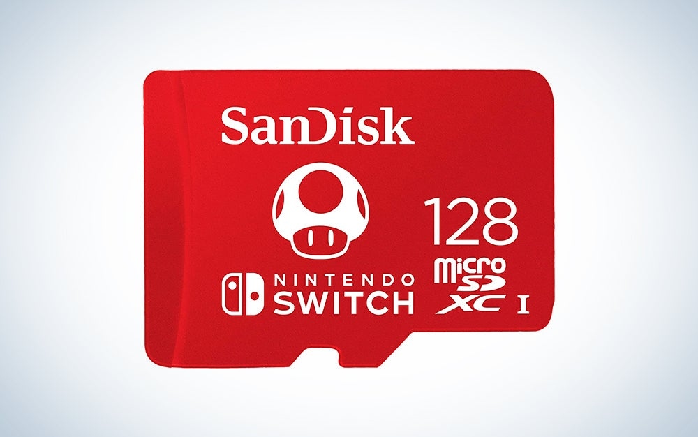 Sandisk memory card is our pick for the best switch accessories