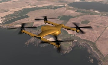 This heavy-lift drone could quietly carry a sub-hunting torpedo
