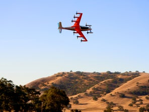Kitty Hawk's electric airplane will fly you around—with no pilot