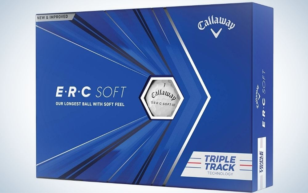 These Callaway balls are the best golf balls for beginners.