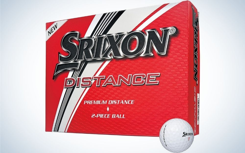 These Srixon balls are the best golf balls for beginners.