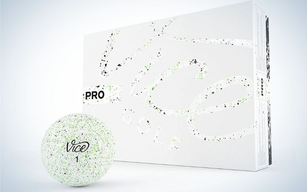 These Vice Pro balls are the best golf balls for beginners.