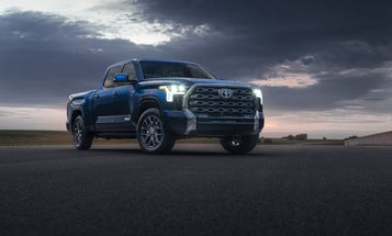 Toyota's new hybrid Tundra uses an electric motor for more power