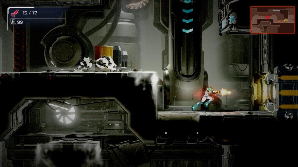 Metroid Dread game